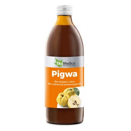 EKA MEDICA Pigwa 0,5L sok 100% (8%)