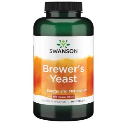 Brewer's Yeast 500mg 500 tabl.