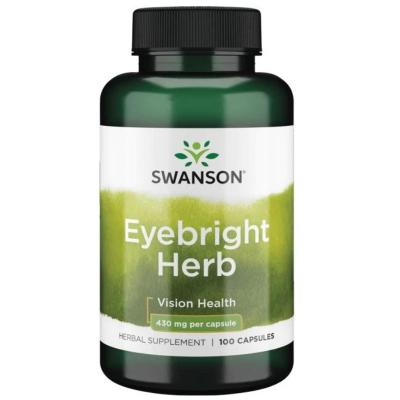 Eyebright (Świetlik lekarski) 430mg 100 kaps.