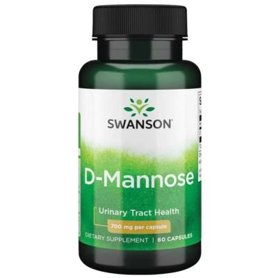 D-mannoza 700mg 60 kaps.