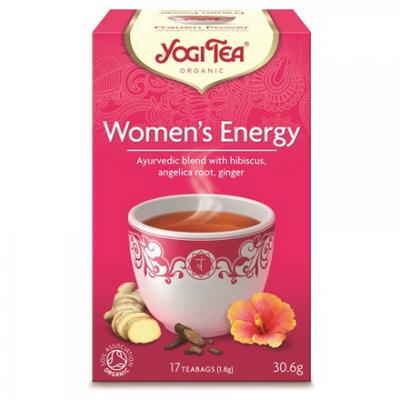 YOGI Herbata dla kobiet energia BIO 17x1,8g