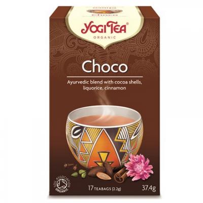 YOGI Herbata czekoladowa BIO 17x2,2g