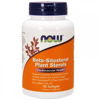 Beta-Sitosterol Plant Sterols 90 kaps.