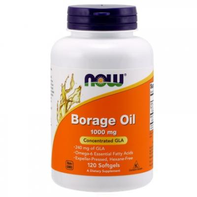 Borage Oil 1000mg 120 kaps.