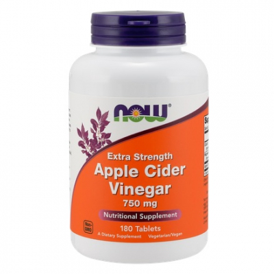 Apple Cider (Ocet jabłkowy) Extra Strength 750mg 180 tabl.