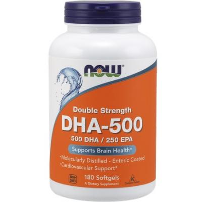 DHA-500 500 DHA/250 EPA 180 kaps.