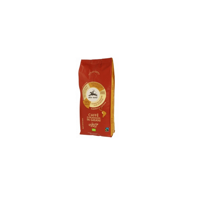 Kawa 100% Arabica ziarnista Fair Trade BIO 500g