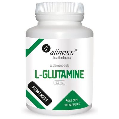 L-Glutamina 500mg 100 kaps.