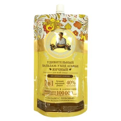 Agafia Odżywka do włosów jajeczna - odżywcza 500ml