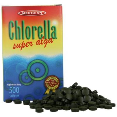 Chlorella 200mg 500 tabl.