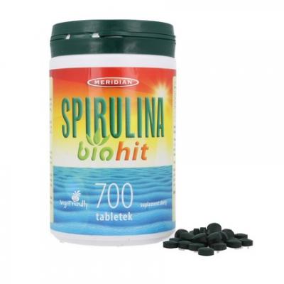 Biohit Spirulina 700 tabl.
