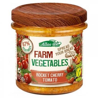 ALLOS Pasta warzywna z pomidorami cherry i rukolą BIO 135g