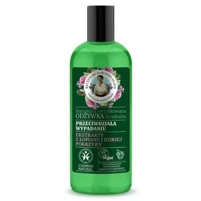 Agafia Zielona Naturalna certyfikowana Odżywka do włosów Przeciwdziała wypadaniu 260 ml