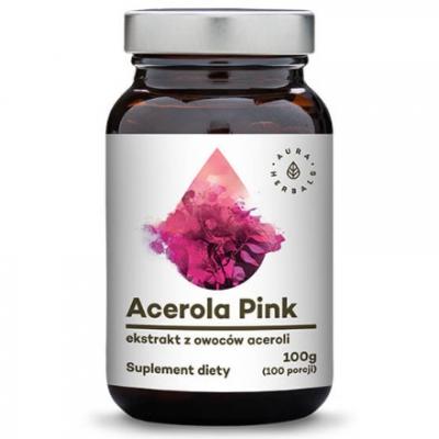 Acerola Pink ekstakt z owoców aceroli 100g