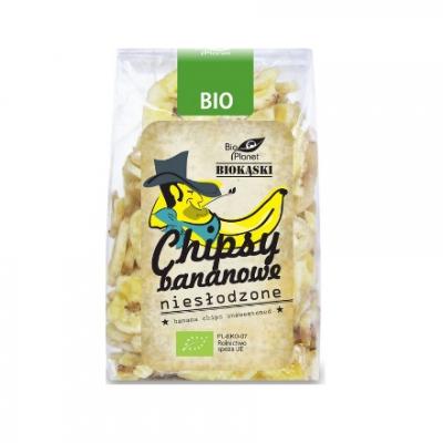 Bio Planet Chipsy bananowe niesłodzone BIO 150g
