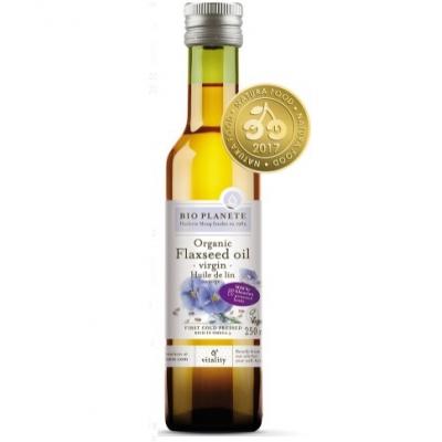 Bio Planet Olej lniany VIRGIN BIO 250 ml