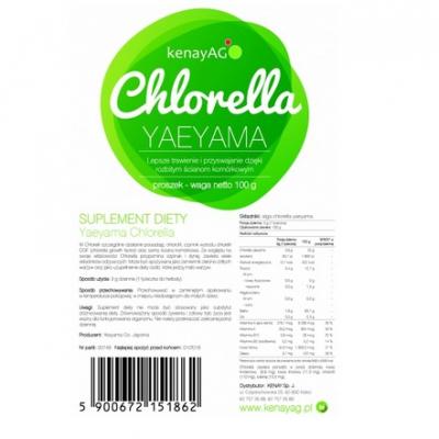Chlorella YaeYama proszek 100g