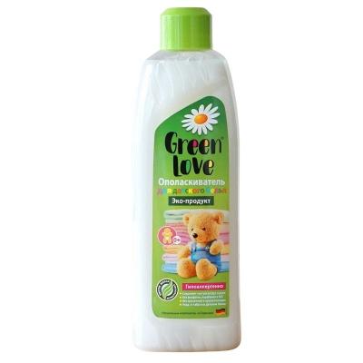 Green Love Ekologiczny Płyn do płukania ubrań dziecięcych 0+ białych i kolorowych 1000 ml