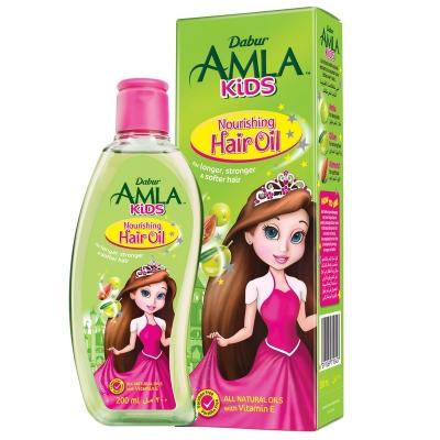 Olejek do włosów dla dzieci Amla Kids Odżywczy 200 ml