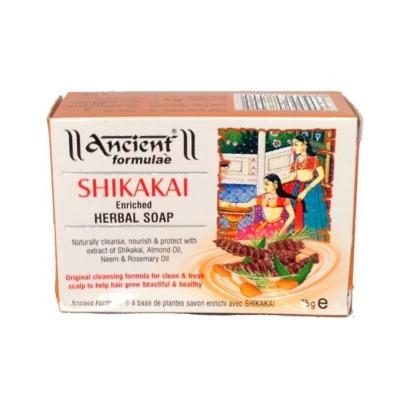 Mydło do włosów SHIKAKAI Wzmacniające ziołowe Hesh&Herbal 75g