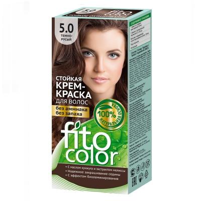 Farba do włosów Fitocosmetic Ciemny brąz