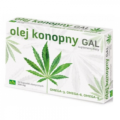 Olej Konopny 60 kaps.