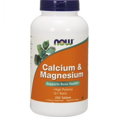 Calcium & Magnesium 250 tabl.