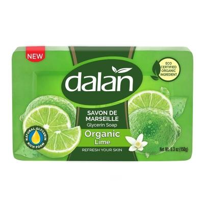 Dalan Savon De Marseille Mydło toaletowe glicerynowe Limonkowe Odświeżające150g