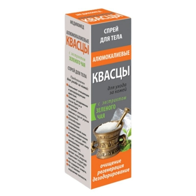 MedikoMed Ałun - spray do ciała z ekstraktem zielonej herbaty 100ml