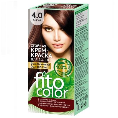 Farba do włosów Fitocosmetic Kasztan