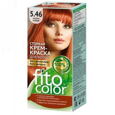 Farba do włosów Fitocosmetic Miedziano Rudy