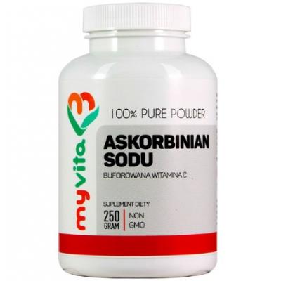Askorbinian sodu (witamina C buforowana) 250g