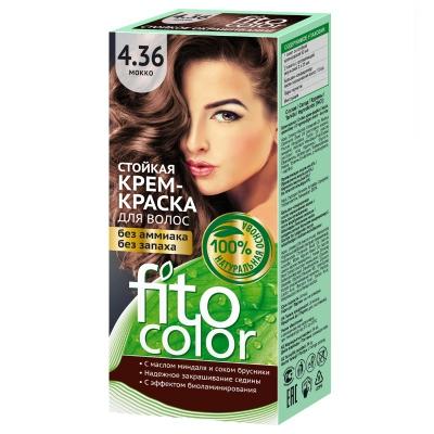 Farba do włosów Fitocosmetic Mokka