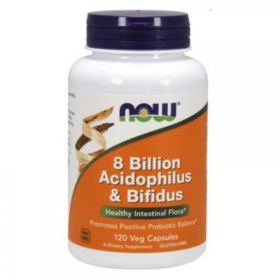 8 Billion Acidophilus & Bifidus 120 kaps
