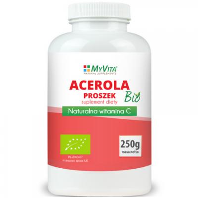 Acerola BIO proszek (sproszkowany sok) 250g