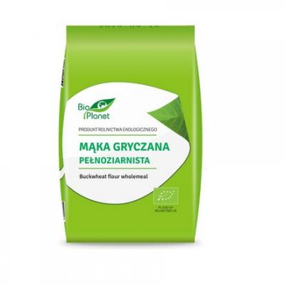 Bio Planet Mąka gryczana pełnoziarnista BIO 1 kg