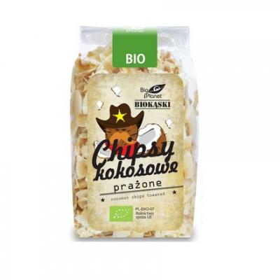 Bio Planet Chipsy kokosowe prażone BIO 150g
