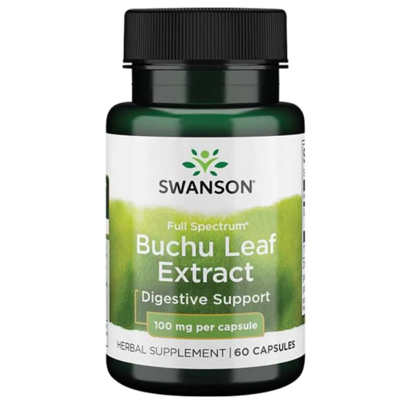 Full Spectrum Buchu leaf (Bukko brzozowe) 100mg 60 kaps.
