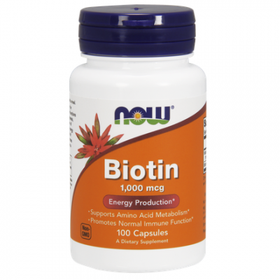 Biotin (Biotyna) 1000 g 100 kaps