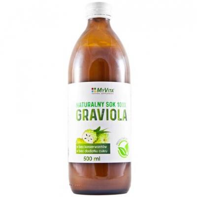 Sok z Gravioli (Graviola) 500ml
