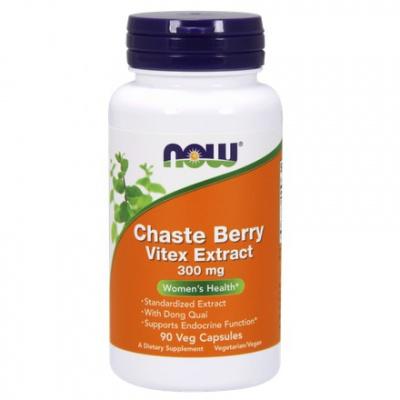 Chaste Berry Vitex Extrakt 300mg 90 kaps.