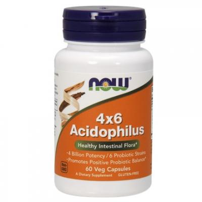 Acidophilus 4X6 60 kaps.