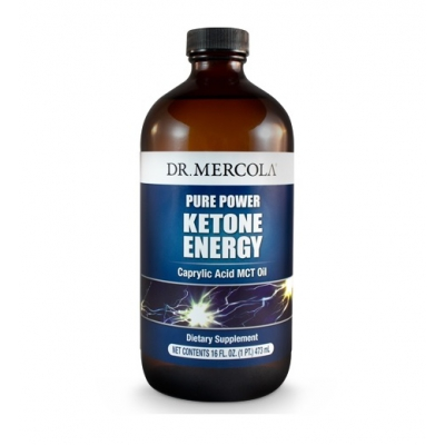 Ketone Energy MCT ol z kw. kapryl 473ml
