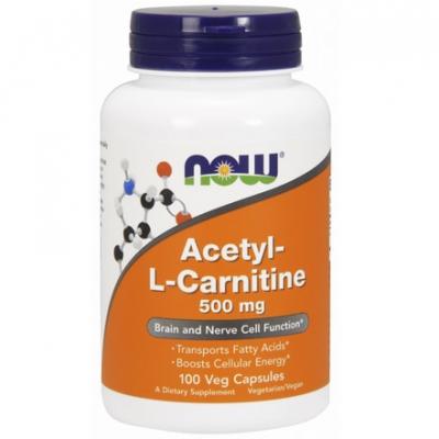 ALC (Acetyl-L-Karnityny) 500mg 100 kaps.