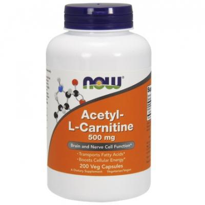 ALC (Acetyl-L-Karnityny) 500mg 200 kaps.