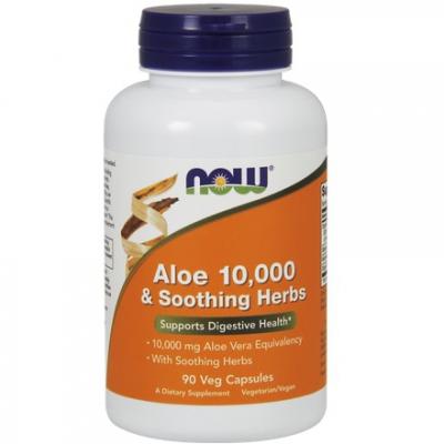 Aloe Vera 10.000 & Soothing Herbs 90 kaps.