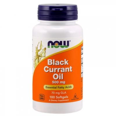 Black Currant Oil (Olej z czarnej porzeczki) 500 mg 100 kaps.