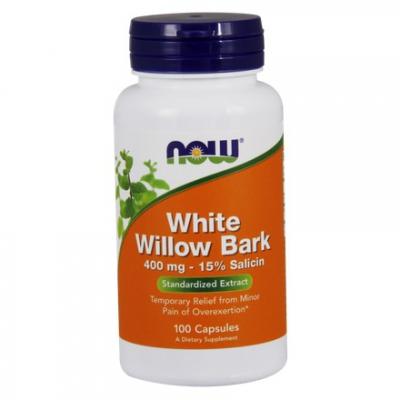 White Willow Bark 400mg 100 kaps.