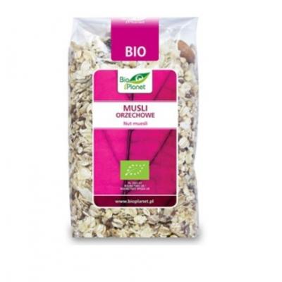 Bio Planet Musli orzechowe BIO 600g