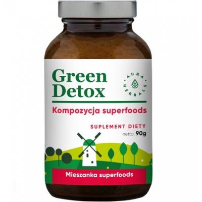 Green Detox koktajl oczyszczający 90g